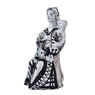 Ceramic Sculpture by Roger Capron For Sale