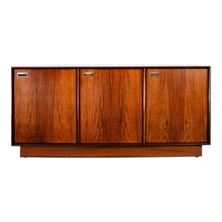 Mid Century Rosewood Credenza For Sale