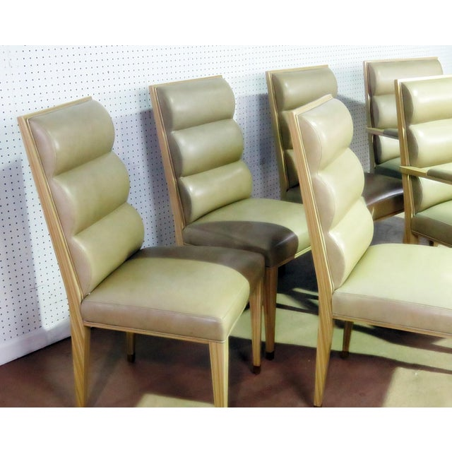Mid 20th Century Set of 6 Mid Century Modern Dining Chairs For Sale - Image 5 of 9