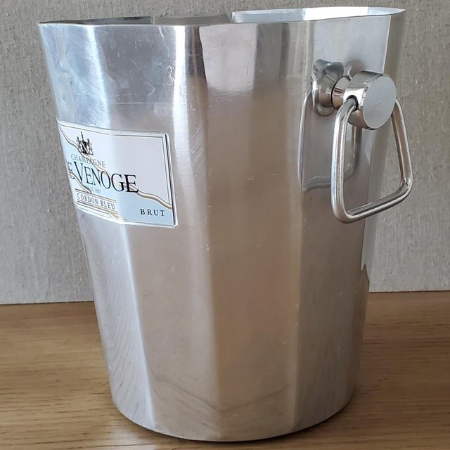 French French De Venoge Champagne Ice Bucket For Sale - Image 3 of 8