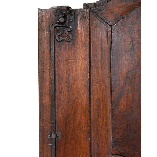 Mid 18th Century French Provincial Double Door Armoire For Sale - Image 5 of 9