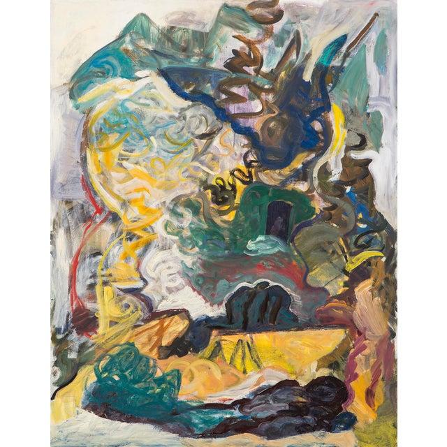 "Blue William Eckhardt Kohler, ""Kailash"" For Sale - Image 8 of 8"