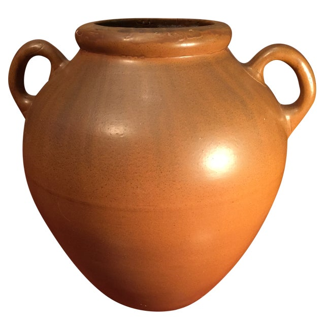 Handled Pottery Oil Jar - Image 1 of 8