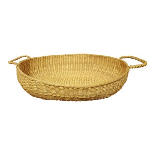 Native American Style Hand Woven Basket