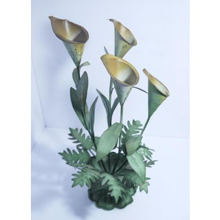 Vintage Calla Lilly Candle Holder Preview