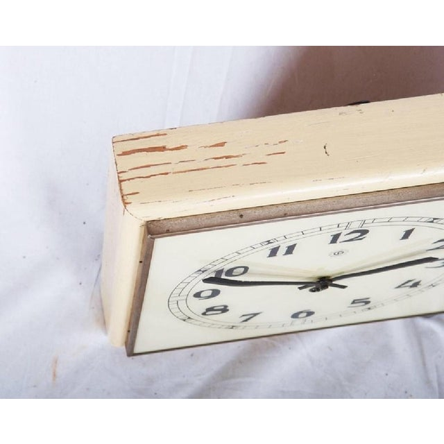 Art Deco Art Deco Wall Clock, 1936 For Sale - Image 3 of 6
