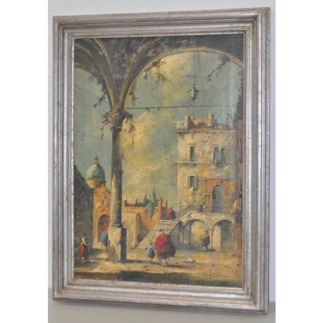 Impressionism 19th Century Italian School Oil Painting For Sale - Image 3 of 10