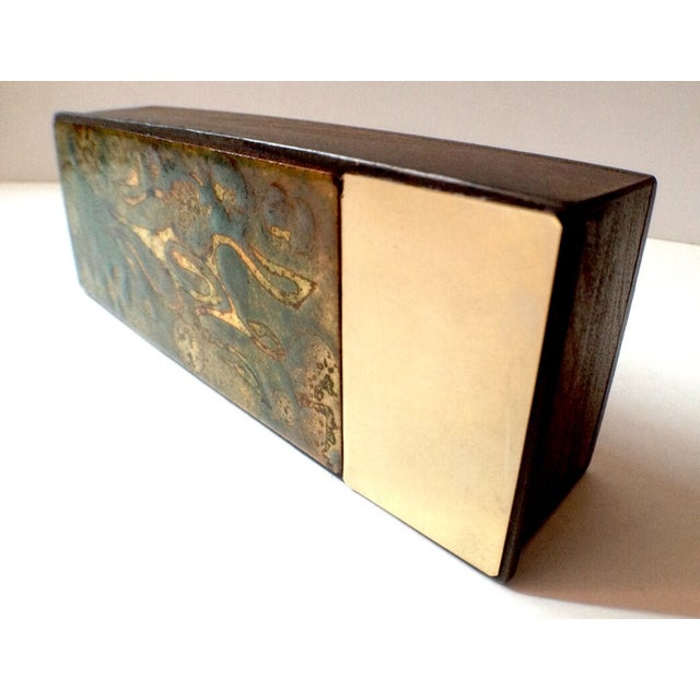 Argentinian Etched Boxes - A Pair - Image 4 of 8