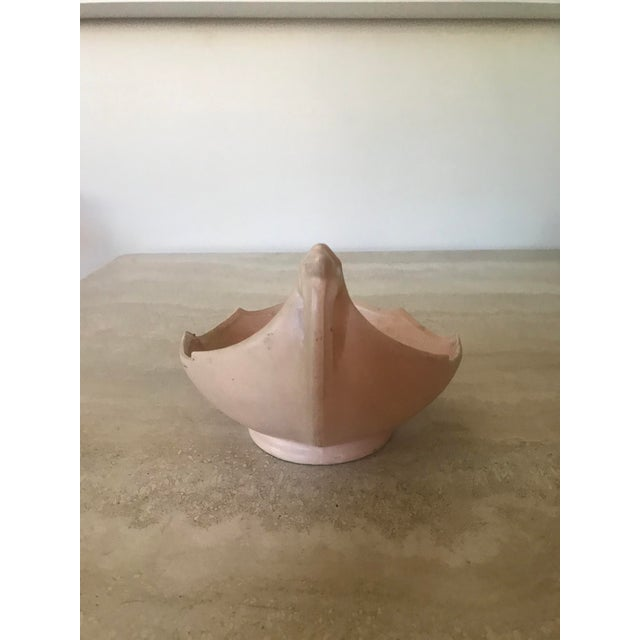Mid-Century Modern Vintage McCoy Pink Pottery Bowl For Sale - Image 3 of 8