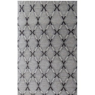 """Contemporary Aara Rugs Inc. Hand Knotted Navajo Style Rug - 9'11"""" X 13'5"""" For Sale"""