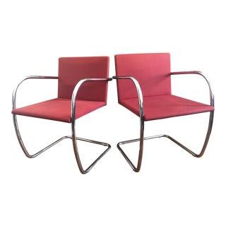 Knoll Mies Van Der Rohe Brno Chairs - A Pair