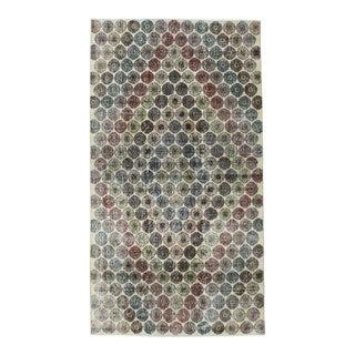 """1990s Handmade Zeki Muren Rug - 4′9"""" × 8′9″ For Sale"""