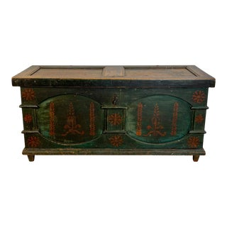 Dowry Chest, American Circa 1810 For Sale