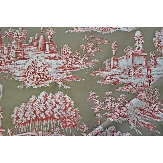 Manuel Canovas Jouvence Cotton Fabric - 4 Yards - Image 2 of 4
