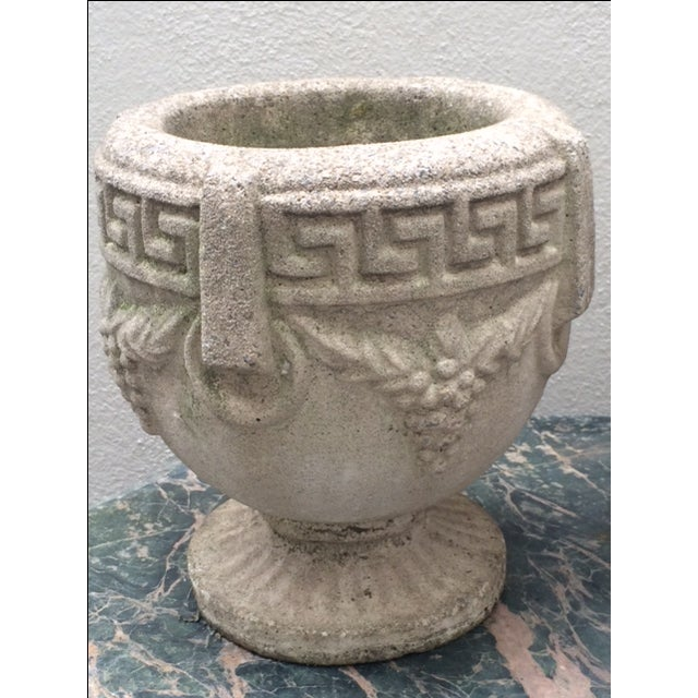 1940s Grecian Cement Planters - A Pair - Image 4 of 7