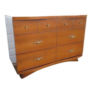Mid Century Modern Cherry Dresser by Harmony House For Sale