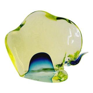 1960s Da Ros for Cenedese Murano Glass Bull For Sale