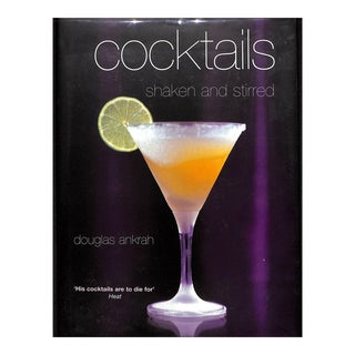 Cocktails: Shaken and Stirred Book For Sale