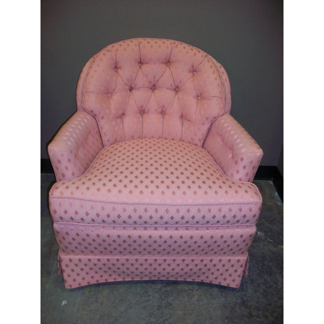Vintage Pennsylvania House Button-Tufted Accent Chair - Image 2 of 5