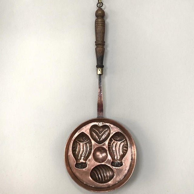 Rustic 19th Century Copper Pan ~ Mold For Sale - Image 3 of 13