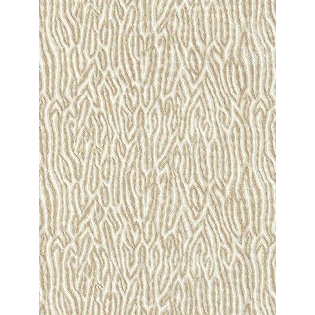Transitional Scalamandre Faux Bois Velvet, Fog Fabric For Sale - Image 3 of 3