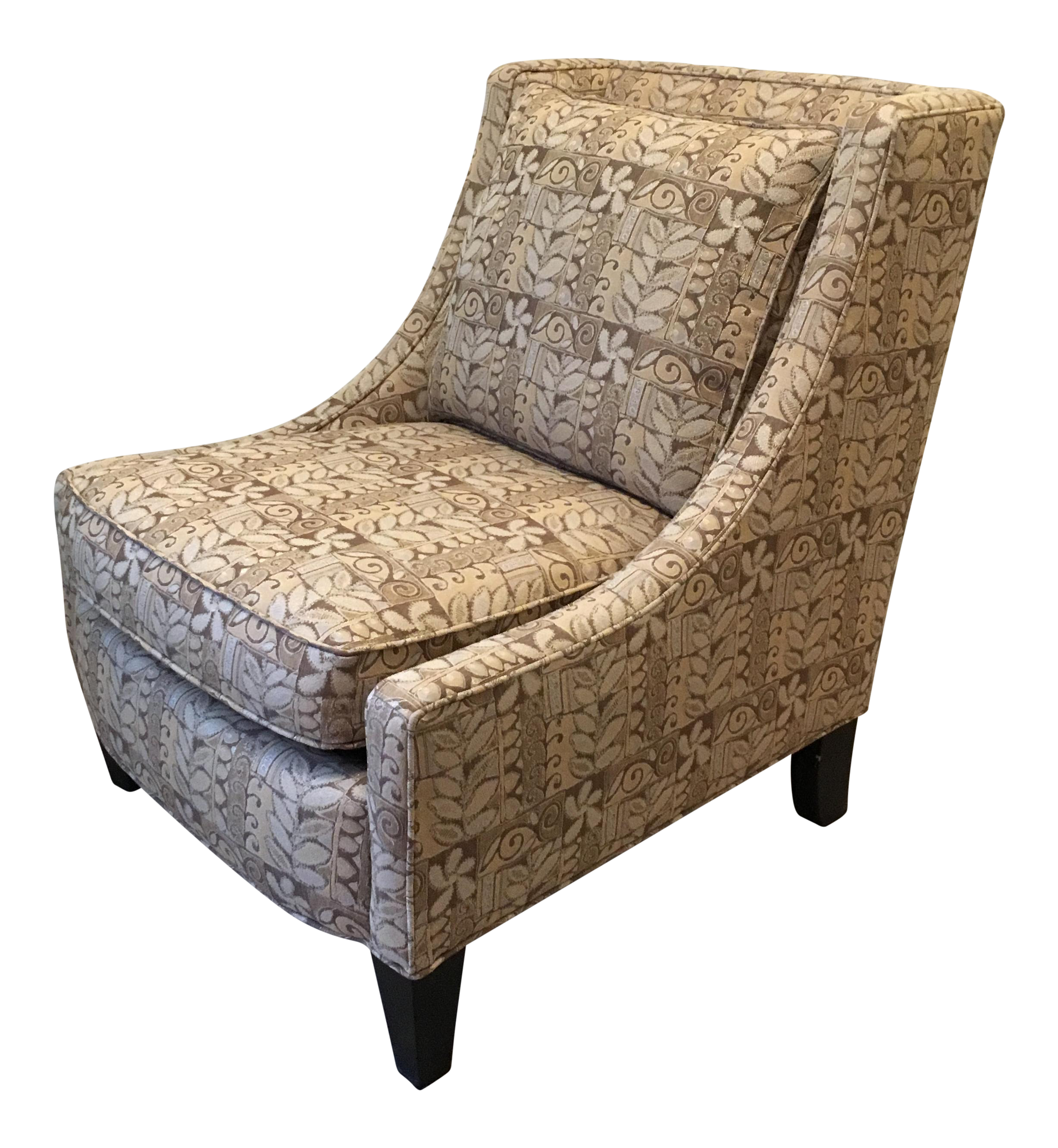Ordinaire Broyhill Armless Club Chair   Image 1 Of 7