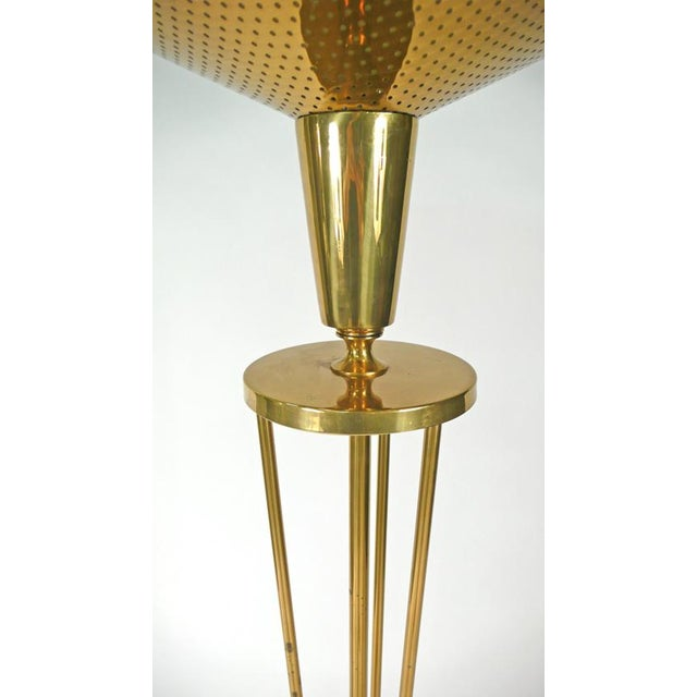 Brass Lightolier Floor Lamp For Sale - Image 7 of 10