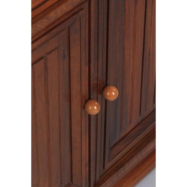French Art Deco Walnut Vitrine/Display Cabinet - Image 4 of 11