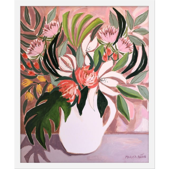 """Contemporary Medium """"Autumn Florals"""" Print by Marisa Anon, 20"""" X 24"""" For Sale - Image 3 of 3"""