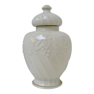 Japanese Porcelain Temple Jar For Sale