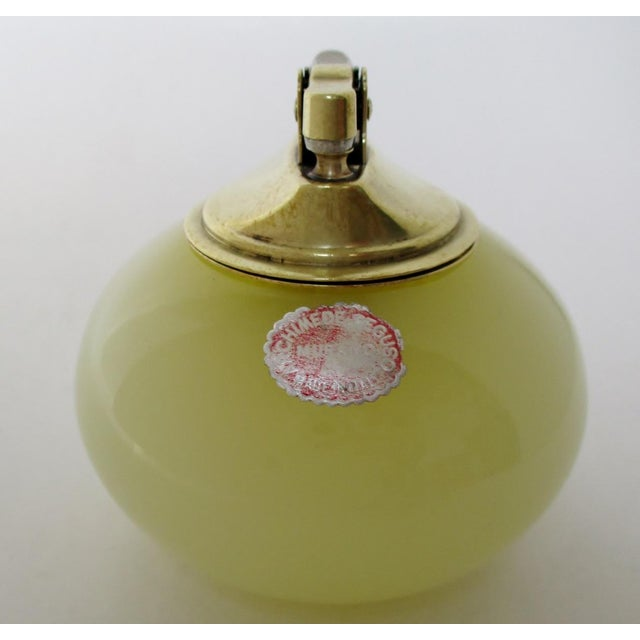 Seguso Seguso Opaline Glass Lighter For Sale - Image 4 of 6