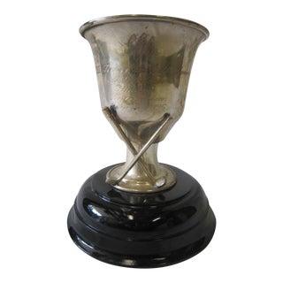 1990s Vintage Golf Trophy For Sale