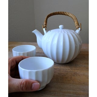 White Porcelain Green Tea Set Preview