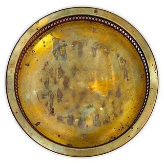 Brass Tray w/ Gallery