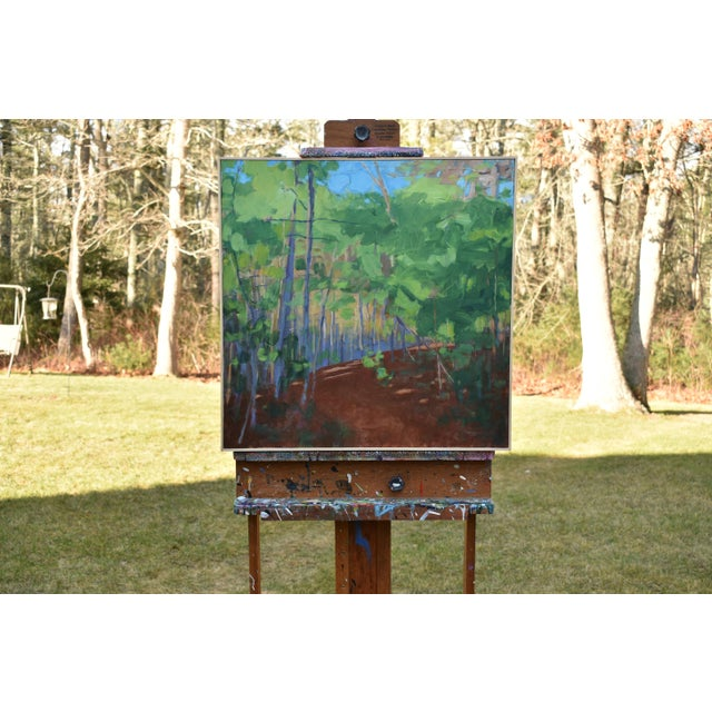 """Stephen Remick """"Late Afternoon"""" Contemporary Painting For Sale - Image 11 of 11"""