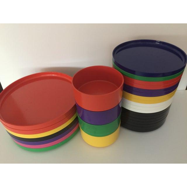 Massimo Vignelli Dining Set - 29 Pieces - Image 4 of 7