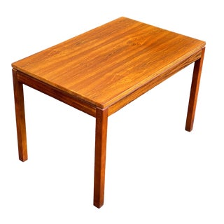 Vintage Heggen Rosewood Side Table For Sale