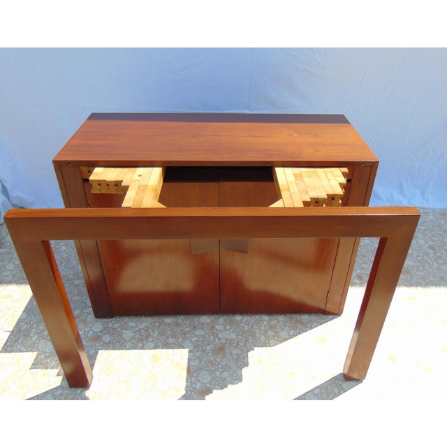 Wood Stanley Young Extending Dining Table For Sale - Image 7 of 12
