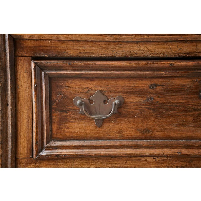 19th Century English Country Georgian Oak Sideboard Dresser For Sale - Image 11 of 13