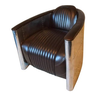 Leather Aviator Armchair