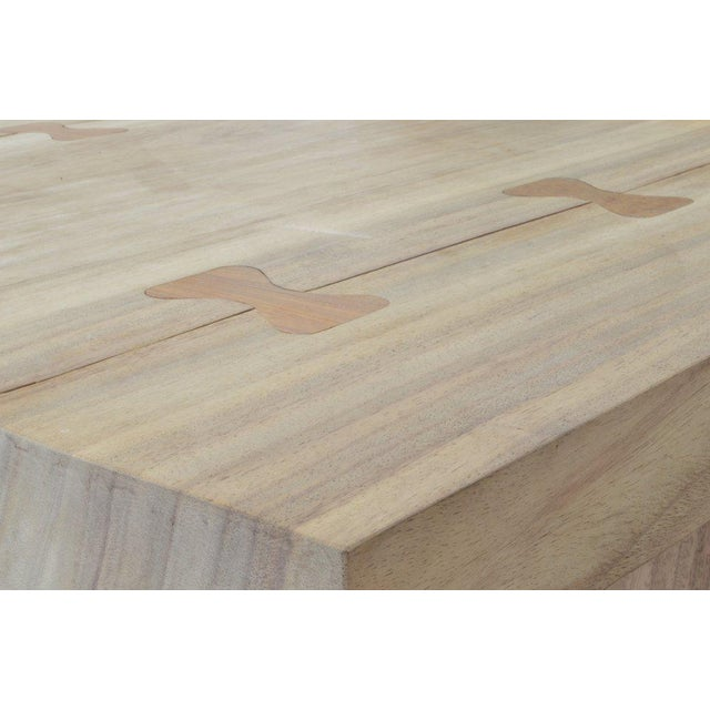 Campaign OZ|Shop Monkey Pod Campaign Dining Table For Sale - Image 3 of 6