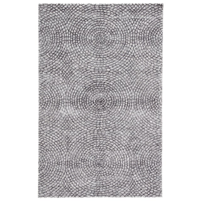 Pollack by Jaipur Living Impresario Handmade Medallion Silver/ Gray Area Rug - 8′ × 10′ For Sale