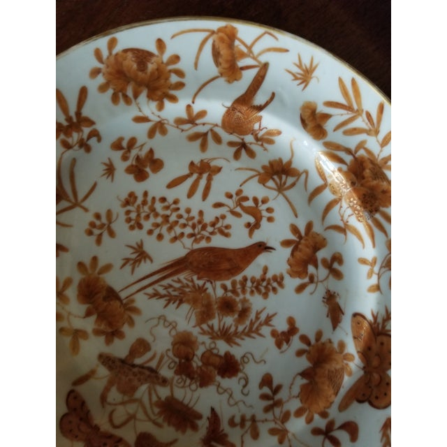 Ceramic Sacred Bird and Butterfly Chinese Porcelain For Sale - Image 7 of 8