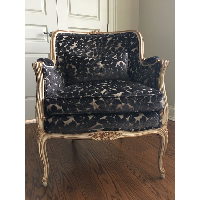 1990s French Schumacher Chair For Sale In Chicago - Image 6 of 7