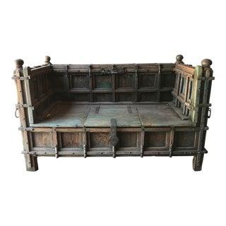 Rare Antique Ottoman Empire Bench