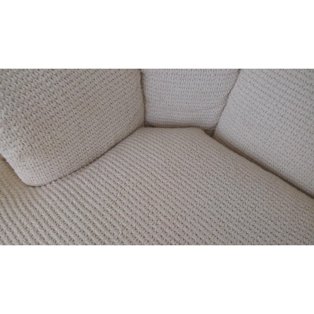 Antique White Vintage Contemporary Directional Sofa For Sale - Image 8 of 13