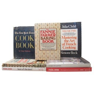Vintage Cookbook Classics Collection, Set of 7 For Sale