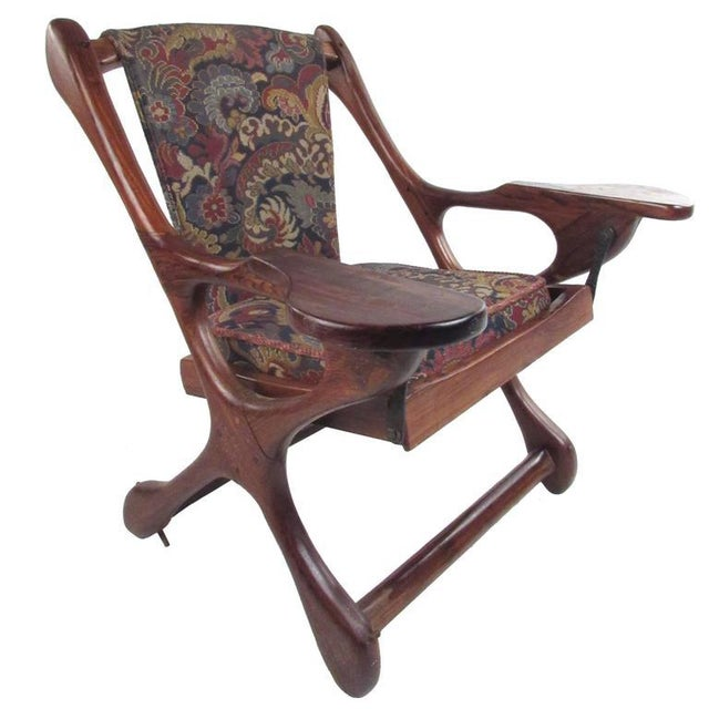 Mid-Century Don Shoemaker Accent Chair For Sale - Image 11 of 11