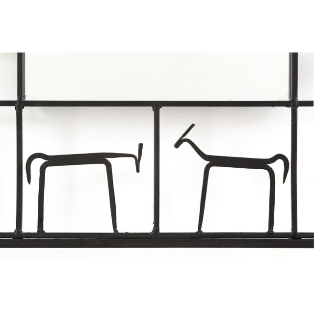 Frederick Weinberg Mid-Century Modern Mirror by Frederick Weinberg For Sale - Image 4 of 6