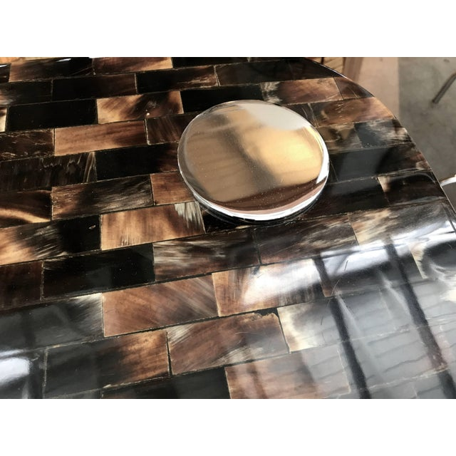 Tessellated Horn Console Table For Sale - Image 9 of 10